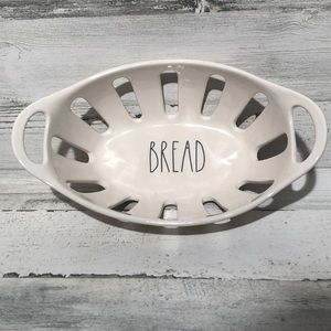 Rae Dunn bread basket NEW! White LL